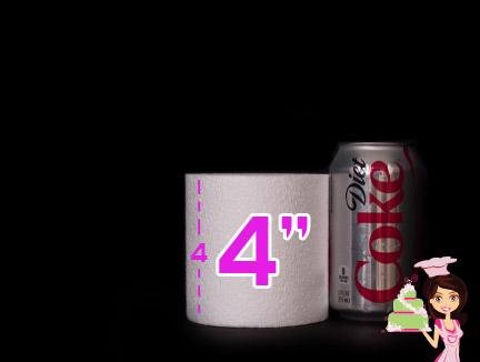 4 6 Servings Six Inch Cake